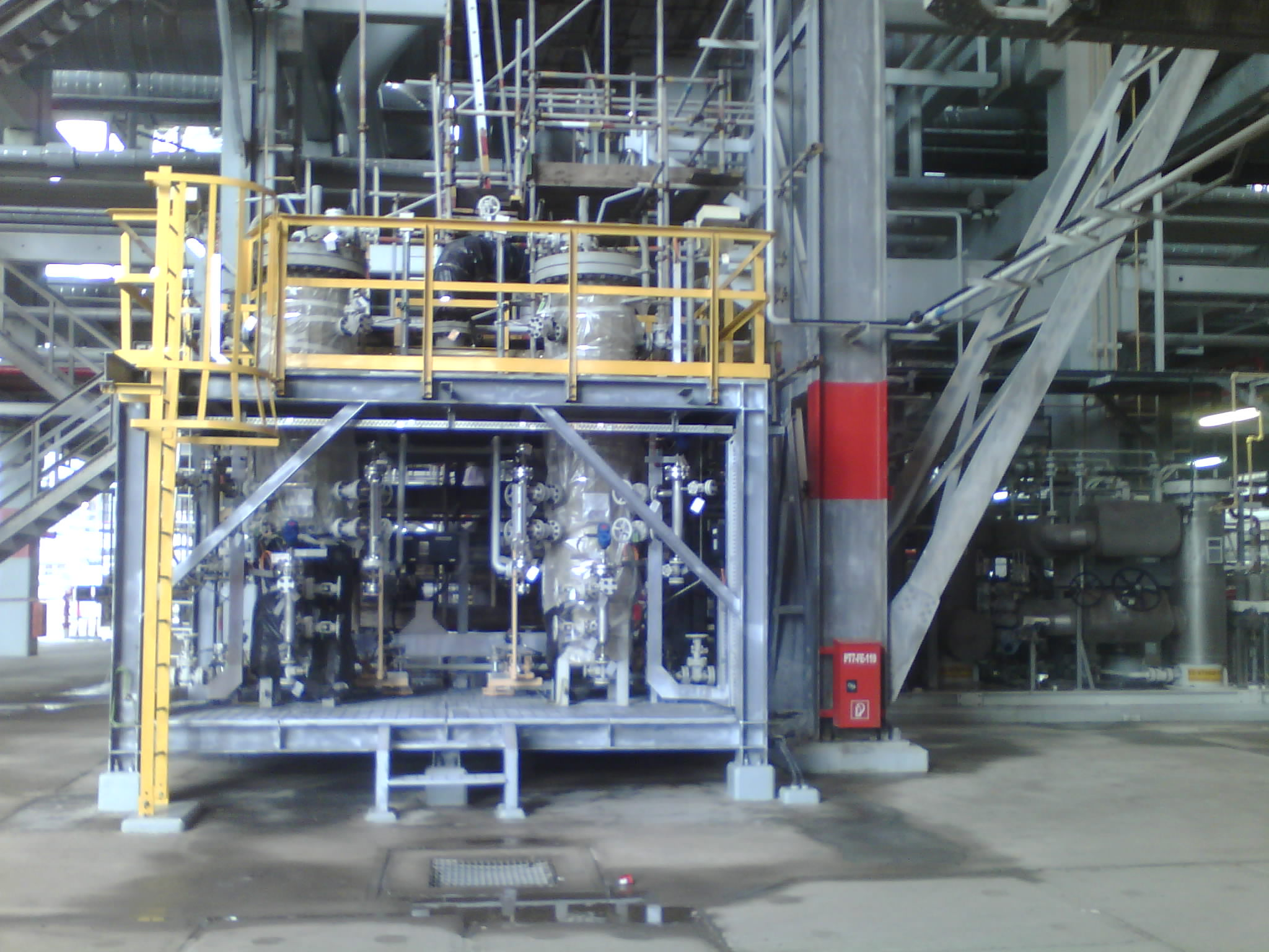 Fuel Gas Scrubber Fabrication & Installation in QG North