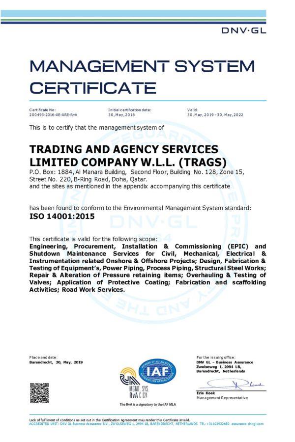 ISO 9001-2015 EMS