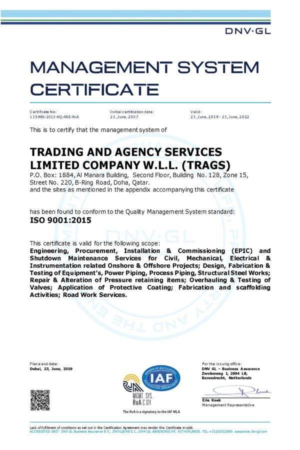 ISO 9001-2015 QMS-1