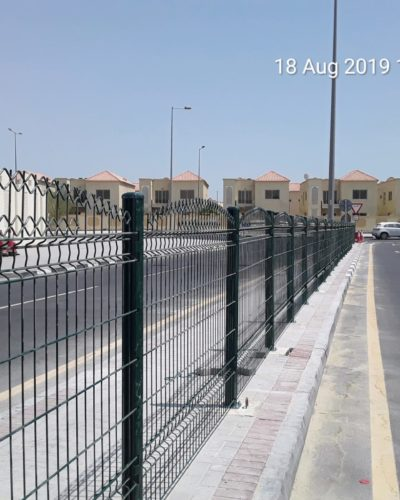 Supply & installation of pedestrian fence, AL LEMAN SECONDARY SCHOOL SAFETY IMPROVEMENT