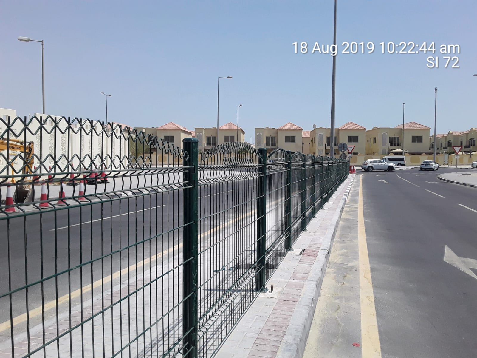 Supply & installation of pedestrian fence – Al Leman Secondary School  Safety Improvements
